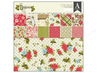 Pads Christmas: Authentique Paper Pad 12 x 12 in. Believe