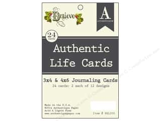Authentique Authentic Life Cards 24 pc. Believe