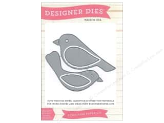 Dies Animals: Echo Park Designer Dies Bird Set 1 Medium