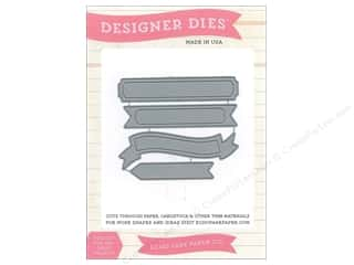 Echo Park Paper Company Decorative Brads: Echo Park Designer Dies Designer Label Set 3 Medium