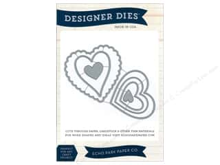 Dies Hearts: Echo Park Designer Dies Heart Set 1 Large