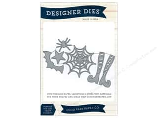 Echo Park Paper Company Decorative Brads: Echo Park Designer Dies Happy Halloween Large