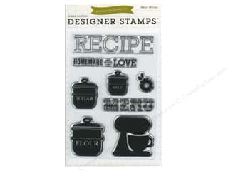 Echo Park Clear Stamp Set Homemade With Love