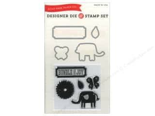 Stamps $4 - $6: Echo Park Designer Die & Stamp Set Little Lady