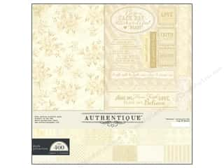 Religious Subjects Crafting Kits: Authentique 12 x 12 in. Paper Faith Collection Kit