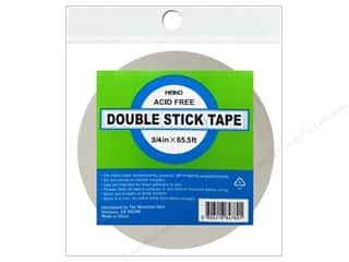 "Glue and Adhesives $4 - $5: Heiko Double Stick Tape 3/4""x 65.5'"