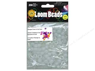Midwest Design Loom Band UV to Pony Bead 200pc