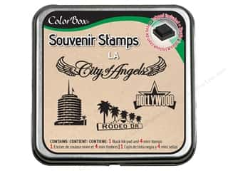 Rubber Stamping Vacations: ColorBox Stamp Souvenir LA