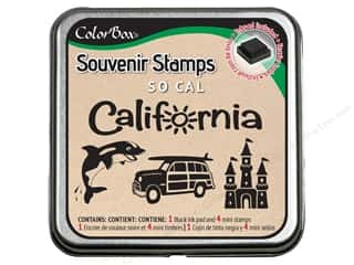 Rubber Stamping Vacations: ColorBox Stamp Souvenir So Cal