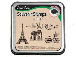 Rubber Stamping Black: ColorBox Stamp Souvenir Paris