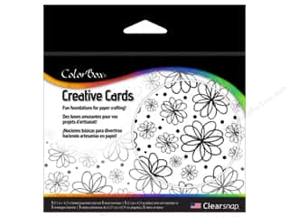 Weekly Specials Inkadinkado Stamping Gear: ColorBox Creative Cards and Envelopes Flowers
