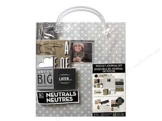 K&Co Pocket Journal Kit 8.5x11 Dots Grey