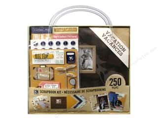 "Crafting Kits $8 - $12: K&Company Scrapbook Kit 8""x 8"" Vacation"