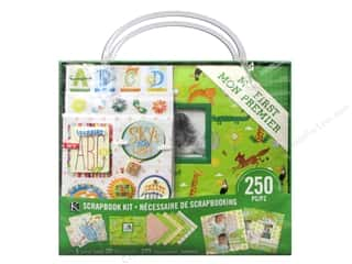 "Crafting Kits $8 - $12: K&Company Scrapbook Kit 8""x 8"" My First"