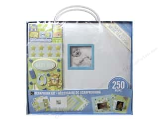 "Crafting Kits $12 - $16: K&Company Scrapbook Kit 12""x 12"" Baby Boy"