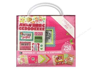 "Grace Company, The Scrapbooking & Paper Crafts: K&Company Scrapbook Kit 8""x 8"" Sweet Treats"