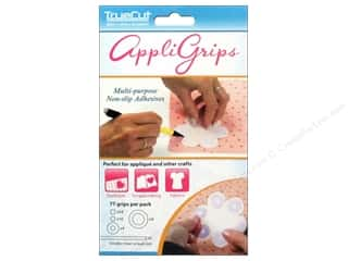 Grippers Quilting Notions: The Grace Company TrueCut AppliGrip Assorted 77pc