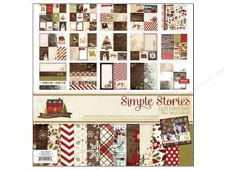 Clearance Christmas: Simple Stories Cozy Christmas Collection Kit