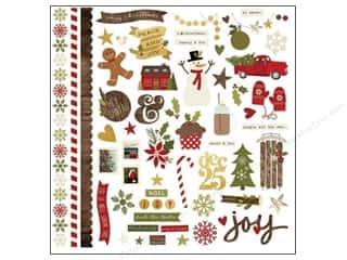 Simple Stories Cozy Christmas Sticker Fundamentals (12 piece)