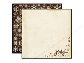 "Joy Brown: Simple Stories Cozy Christmas Paper 12""x 12"" Oh Joy (25 pieces)"