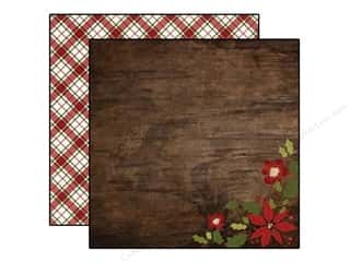 "Simple Stories Designer Papers & Cardstock: Simple Stories Cozy Christmas Paper 12""x 12"" Wonder (25 pieces)"