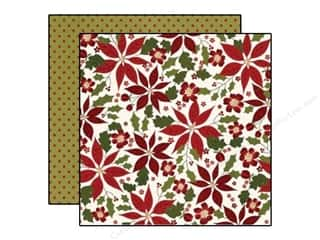 "Simple Stories Designer Papers & Cardstock: Simple Stories Cozy Christmas Paper 12""x 12"" Happy Holidays (25 pieces)"