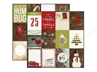 Simple Stories Cozy Christmas Paper 12x12 Jour 3x4 (25 piece)