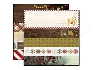 Simple Stories Cozy Christmas Paper 12x12 Bdr/Titl (25 piece)