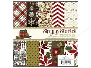 Simple Stories Cozy Christmas Paper Pad 6x6