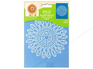 "Stenciling Craft Paint: DecoArt Stencil Americana Mixed Media 6""x 8"" Doilies"