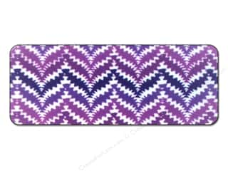 FotoFiles Nail File with Mirror Purple Zigs