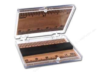 Needle Holders inches: FotoFiles Needle Case Ruler