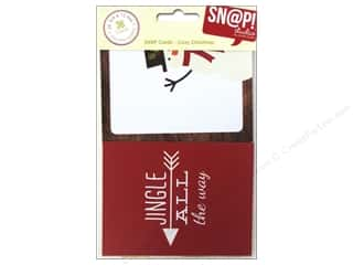 Simple Stories inches: Simple Stories SN@P! Cards Cozy Christmas