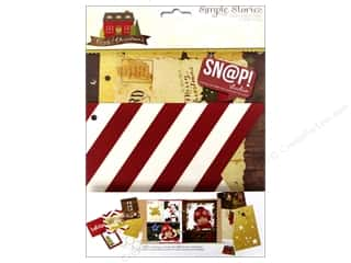 Snaps Scrapbooking: Simple Stories Cozy Christmas Snap Pages
