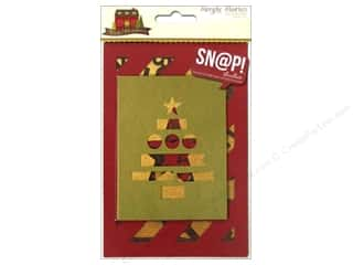 Cozy Quilt Designs $3 - $6: Simple Stories Cozy Christmas Snap Cuts