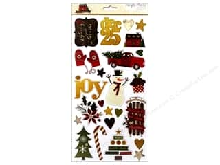 chipboard stickers: Simple Stories Cozy Christmas Sticker Chipboard