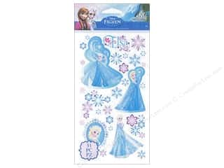 Disney Stickers: EK Disney Sticker Frozen Elsa & Snowflakes