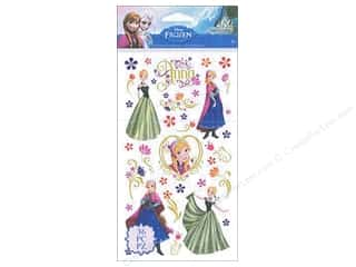 Licensed Products Scrapbooking & Paper Crafts: EK Disney Sticker Frozen Anna & Flowers