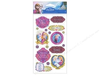 Licensed Products Scrapbooking & Paper Crafts: EK Disney Sticker Frozen Anna & Elsa Sisters