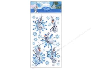Disney Stickers: EK Disney Sticker Frozen Olaf