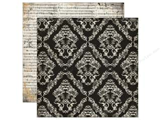 Echo Park Paper Company: Echo Park 12 x 12 in. Paper Arsenic & Lace Collection Large Damask (25 sheets)