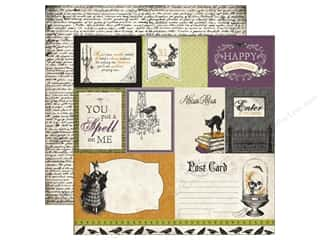 Echo Park 12 x 12 in. Paper Arsenic Lace Journal Cards (25 piece)