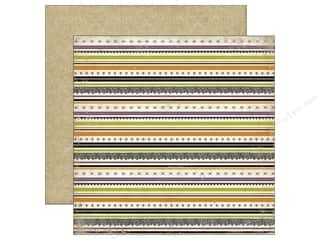 Echo Park 12 x 12 in. Paper Arsenic & Lace Stripes (25 piece)
