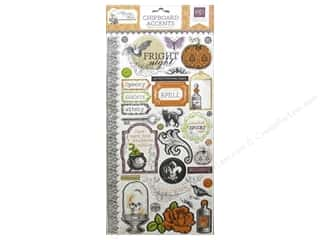 2013 Crafties - Best Adhesive: Echo Park Adhesive Chipboard 6 x 12 in. Arsenic & Lace