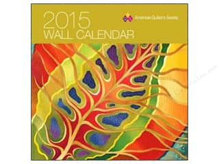 American Quilter's Society Wall Calendar 2015