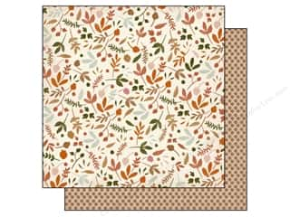 Fall / Thanksgiving paper dimensions: Authentique 12 x 12 in. Paper Grateful Plentiful (25 pieces)