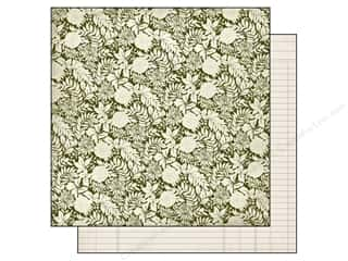 Fall / Thanksgiving Floral & Garden: Authentique 12 x 12 in. Paper Grateful Roots (25 pieces)
