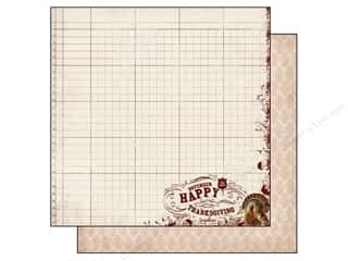 Authentique 12 x 12 in. Paper Grateful Bountiful (25 piece)