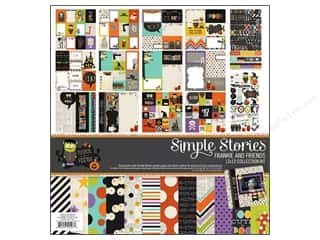 "Simple Stories Alphabet Stickers: Simple Stories Frankie & Friends 12'x 12"" Collection Kit"