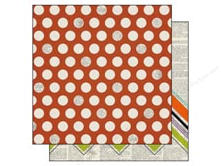 Simple Stories Frankie/Frnd Paper 12x12 Pumpkin (25 piece)